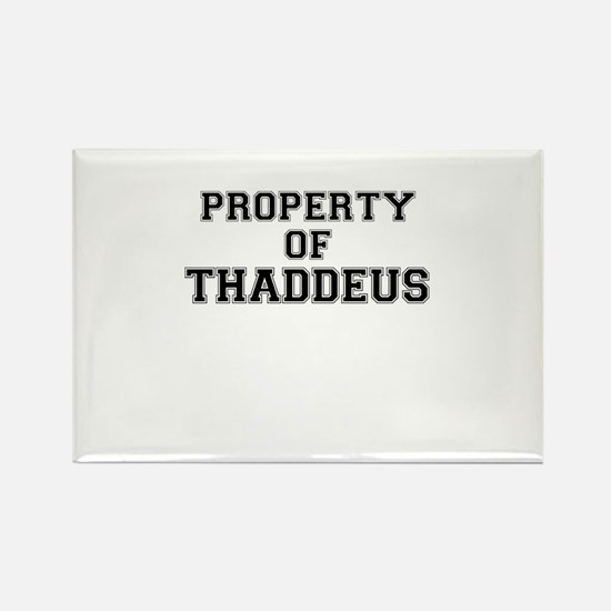 Property of THADDEUS Magnets