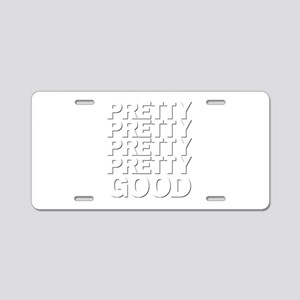 Social Assassin Aluminum License Plate