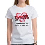Love and Sex Women's T-Shirt