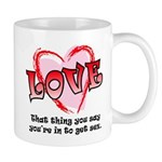 Love and Sex Mug