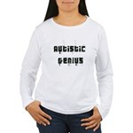 Autistic Genius Grunge Women's Long Sleeve T-Shirt