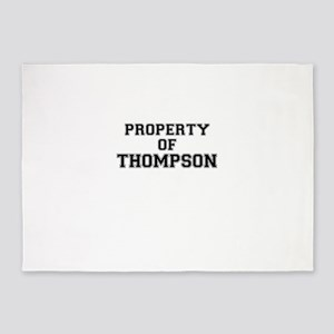 Property of THOMPSON 5'x7'Area Rug