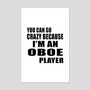 I Am oboe Player Mini Poster Print