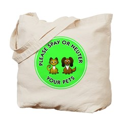 Spay or Neuter Tote Bag