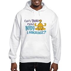 Body Language Garfield Hoodie