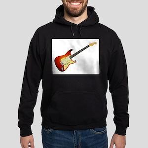Sunburst Electric Guitar Hoodie (dark)