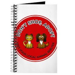 Don't Shop, Adopt Journal