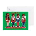 The Shriners Nutcrackers Greeting Cards (Pk of 10)