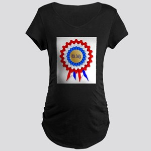 Independence Day Rosette Maternity T-Shirt