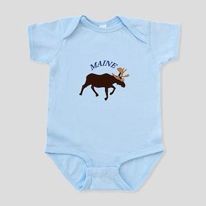 Maine Moose Body Suit