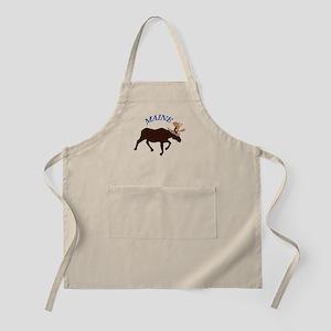 Maine Moose Apron