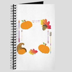 Thanksgiving Frame Journal
