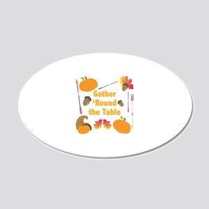Gather Round Wall Decal