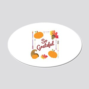 So Grateful Wall Decal
