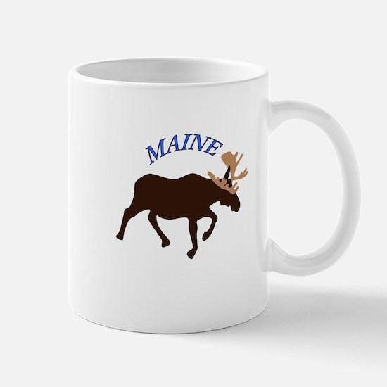 Maine Moose Mugs