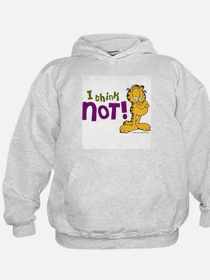 I think NOT! Garfield Hoody