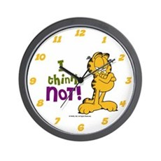 I think NOT! Garfield Wall Clock