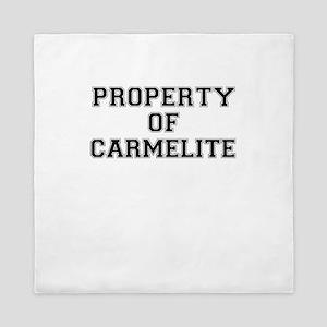 Property of CARMELITE Queen Duvet