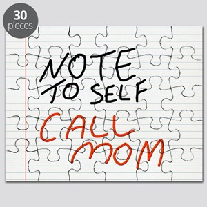 Note to self Puzzle