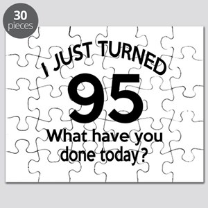 I Just Turned 95 What Have You Done Today ? Puzzle