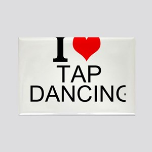 I Love Tap Dancing Magnets