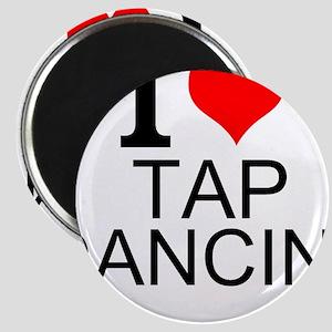 I Love Tap Dancing Magnets