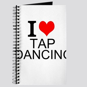 I Love Tap Dancing Journal