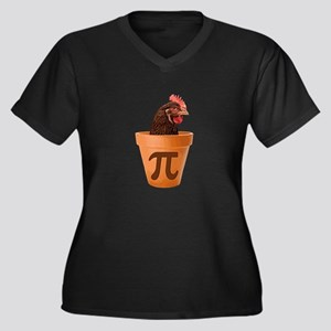 Chicken Pot Pi (and I don't care) Plus Size T-Shir