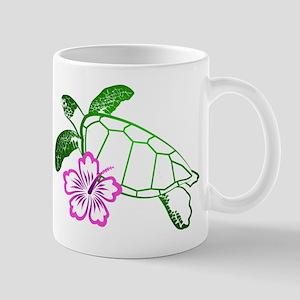 Sea Turtle w/ Hibiscus Mug