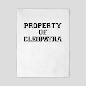 Property of CLEOPATRA Twin Duvet
