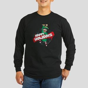 Bob's Burgers Gene Holida Long Sleeve Dark T-Shirt
