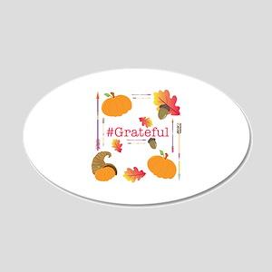 #Grateful Wall Decal