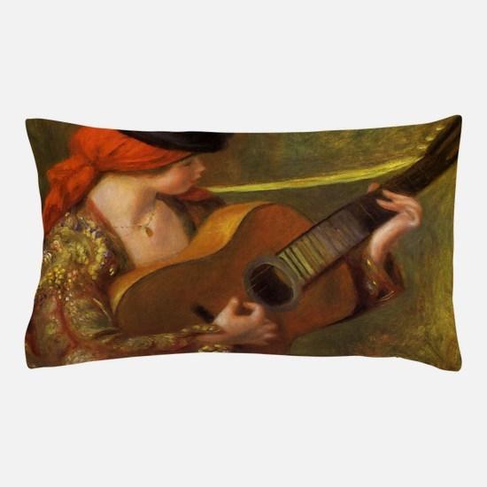 Renoir Spanish Woman with Guitar Pillow Case