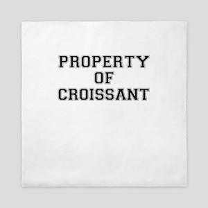Property of CROISSANT Queen Duvet