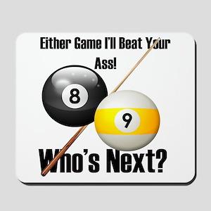 Who's Next Mousepad