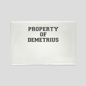 Property of DEMETRIUS Magnets