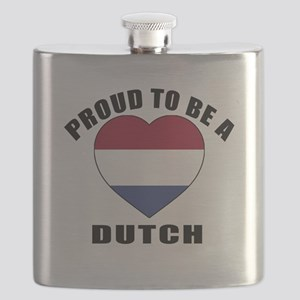 Dutch Patriotic Designs Flask