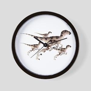 Utahraptor Wall Clock