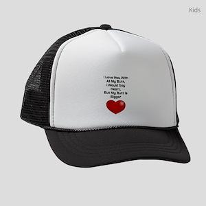Valentines Day Quotes Kids Trucker Hats Cafepress