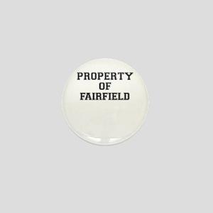 Property of FAIRFIELD Mini Button