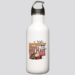 Peanuts Fall Reading Stainless Water Bottle 1.0L