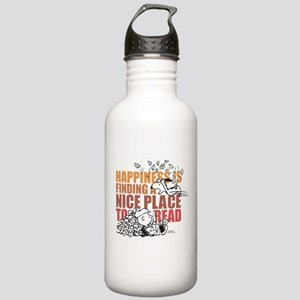 Peanuts Happiness Than Stainless Water Bottle 1.0L