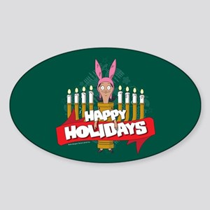 Bob's Burgers Louise Holiday Sticker (Oval)