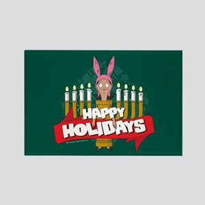 Bob's Burgers Louise Holiday Rectangle Magnet