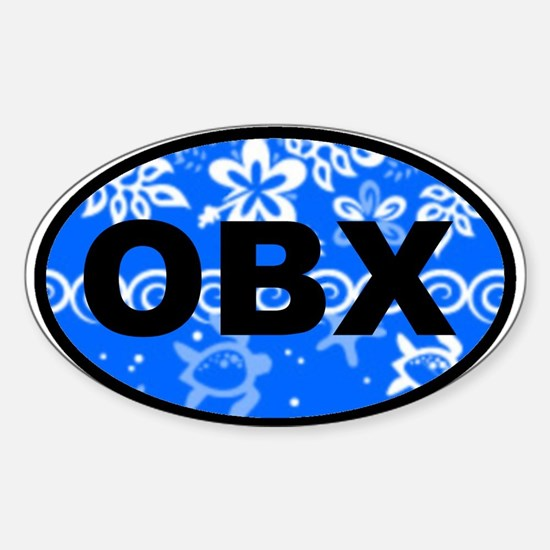 OBX OVAl - NEW Oval Decal