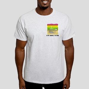 Stop Animal Testing Light T-Shirt