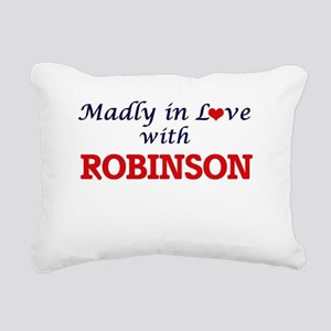 Madly in love with Robin Rectangular Canvas Pillow