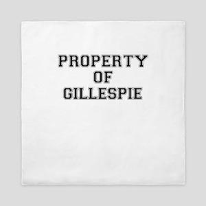 Property of GILLESPIE Queen Duvet