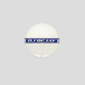 DJ BeJay mini Badge/button/Pin