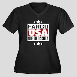 Fargo North Dakota USA Plus Size T-Shirt
